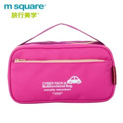 M SQUARE Cyber pack & multifunctional bag (Pink)