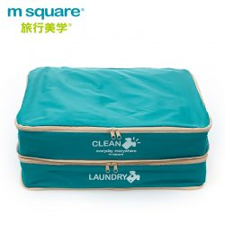 M SQUARE Cube portable foldable travel storage clothes pouch with stock bag