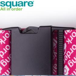M SQUARE basic style travel suitcase strap luggage belt