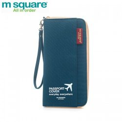 M SQUARE multinational colorful traveling passport wallet bag long  version